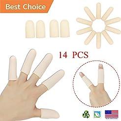 Gel Finger Cots, Finger Protector Suppor...