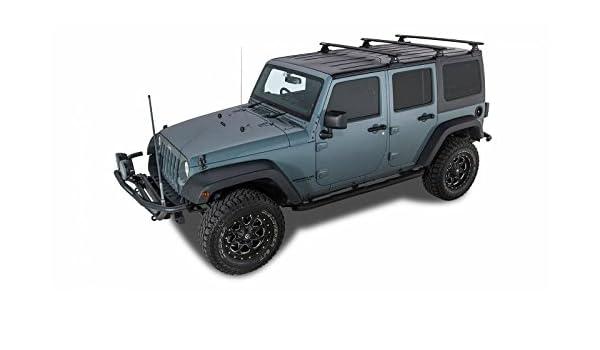 Jeep Wrangler Rhino >> Amazon Com Rhino Rack 2007 2010 Jeep Wrangler 2011 2018 Wrangler Jk