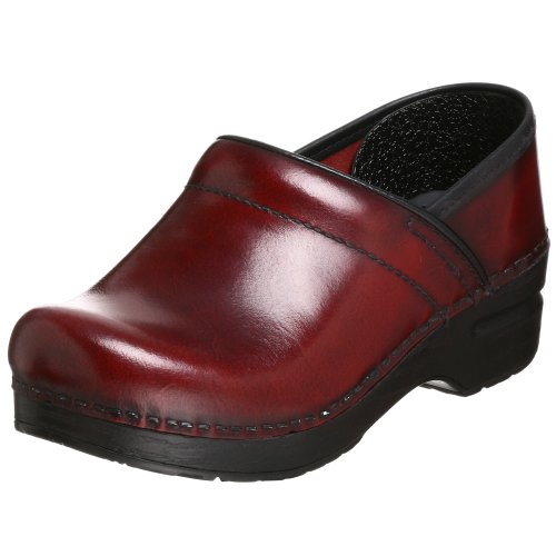 Dansko Women's Professional Pro Cabrio Leather Clog,Cordovan Cabrio Leather,39 EU / 8.5-9 M US by DCUG9