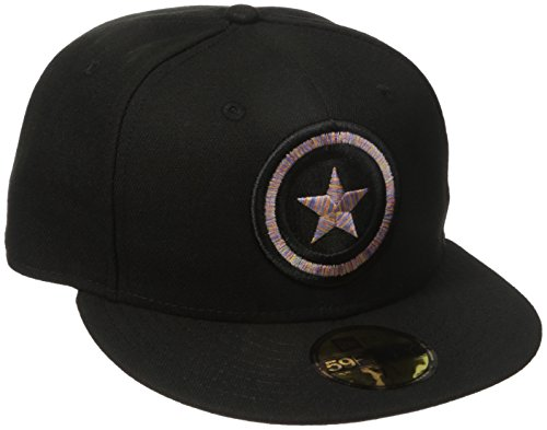 Amazon.com: Marvel Mens Logo Craze Fitted Captain America 59fifty Cap: Clothing
