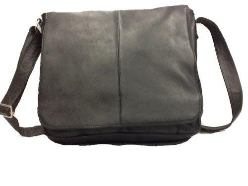David King & Co. Laptop Messenger Bag Plus, Black, One Size by David King & Co