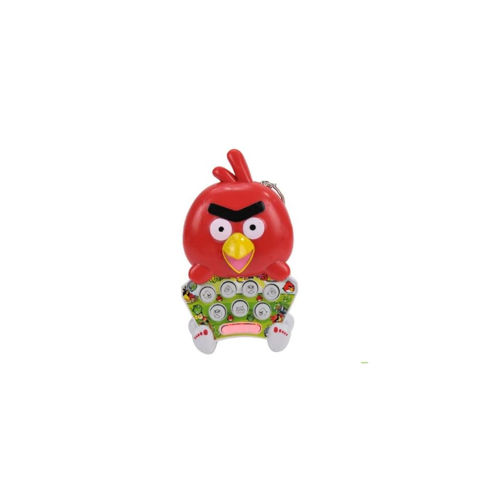 Hand held Games Angry Bird shaped Colorful Light Mole Attack Mouse Game Console with 778 Levels