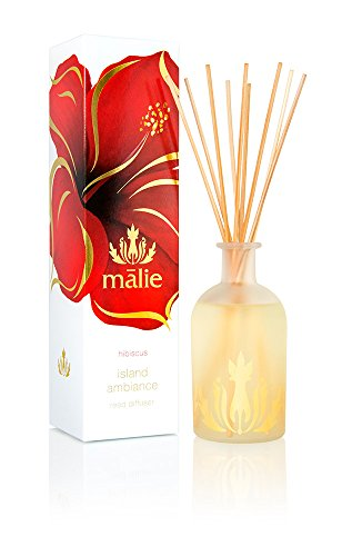 (Malie Island Ambiance Reed Diffuser - Hibiscus)