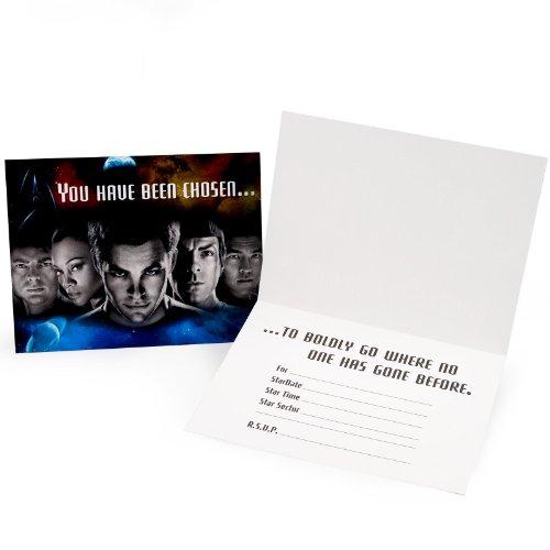 Star Trek Invitations w/ Envelopes (8ct) -