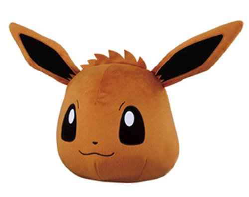 Banpresto Pokemon - Banpresto Pokemon XY & Z Giant Eevee Face Cushion Stuffed Plush, 10