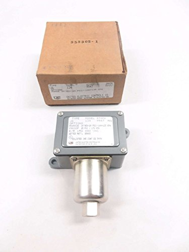 NEW UNITED ELECTRIC J6 134 DIFFERENTIAL PRESSURE SWITCH 480V-AC 15A AMP D526972 - United Electric Differential Pressure Switch