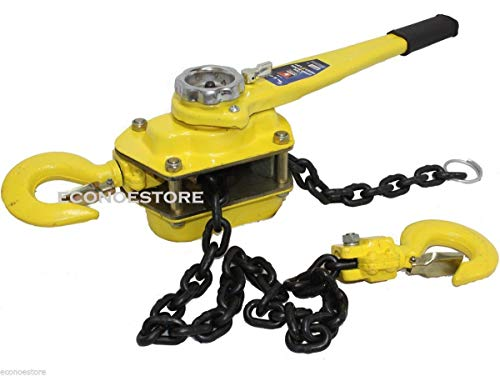 9TRADING NEW 6 TON 5 FT RATCHETING LEVER BLOCK CHAIN HOIST COME ALONG PULLER PULLEY