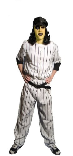 The Warriors Baseball Furies Deluxe Jersey Costume Adult X-Large White