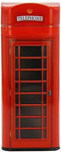 Grandma Wild's - English Telephone Box Tin - Bitesize Butter Shortbread - 150g ()