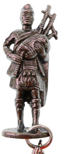 Scottish Figure Key Ring - Pewter