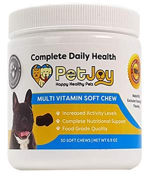 PetJoy Complete Health Daily Includes Vitamin A Vitamin B12 Copper Choline Manganese Vitamin D3 Vitamin E Zinc Iron to Ensure Complete Nutritional Support