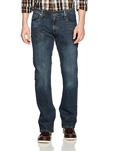 Signature by Levi Strauss & Co. Gold Label Men's Bootcut Fit Jeans, Headlands, 40W x 30L (Levi Strauss Bootcut Jeans)