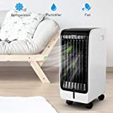 COSTWAY Evaporative Cooler, Portable Cooler with