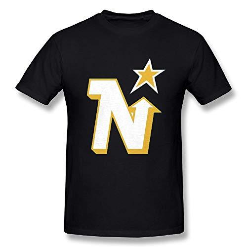 Man's Minnesota North Stars Hockey Adult Regular Fit Casual Short T-Shirt Tee Black XX-Large
