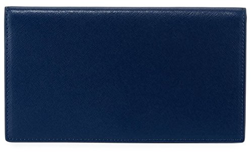 Neiman Marcus Slim Leather Bi-Fold Wallet by Neiman Marcus