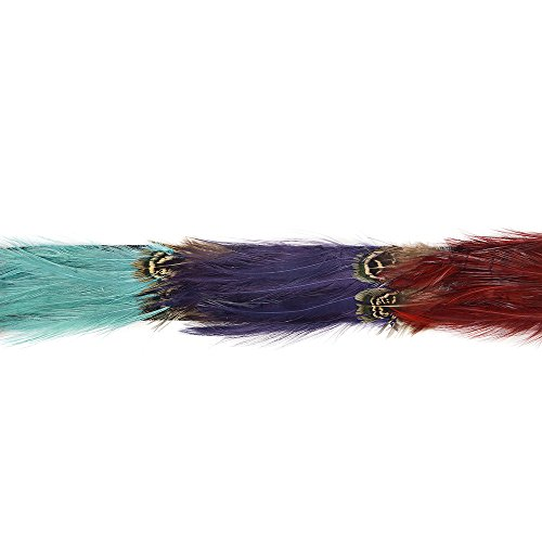Zucker Feather (TM) - Feather Tape Trim w/Pheasant & Hackle ()