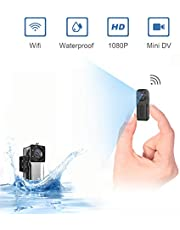 Waterproof Mini Spy Cameras Hidden Wifi,NIYPS Wireless HD 1080P Portable Small Home Nanny Cam With Night Vision and Motion Detection,Perfect Covert IP Security Surveillance Camera for Indoor and Outdoor