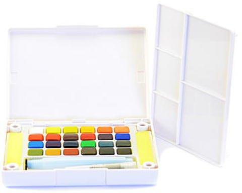 Watercolor Pocket Box - Sakura Koi Watercolors Pocket Field Sketch Box Sets 1 pcs SKU# 1873804MA