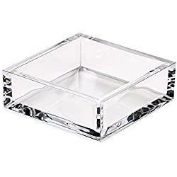 Entertaining with Caspari 1 Count Acrylic Cocktail Napkin Holder