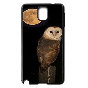 LSQDIY(R) Owl Samsung Galaxy Note 3 N9000 Case, Custom Samsung Galaxy Note 3 N9000 Phone Case Owl
