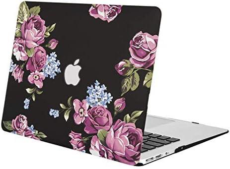 MOSISO Funda Dura Compatible MacBook Air 11 Pulgadas (A1370 / A1465), Ultra Delgado Carcasa Rígida Protector de Plástico Cubierta, Peonía