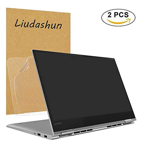 Screen Protector For Lenovo Yoga 730 15,HD Clear LCD Anti-Scratch Anti-Fingerprints Guard Film For 15.6 Lenovo Yoga 730 15 2-in-1 Laptop(2-pack)