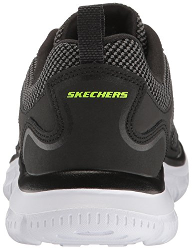 Skechers Track-Bucolo Hombre Fibra sintética Zapatos para Caminar