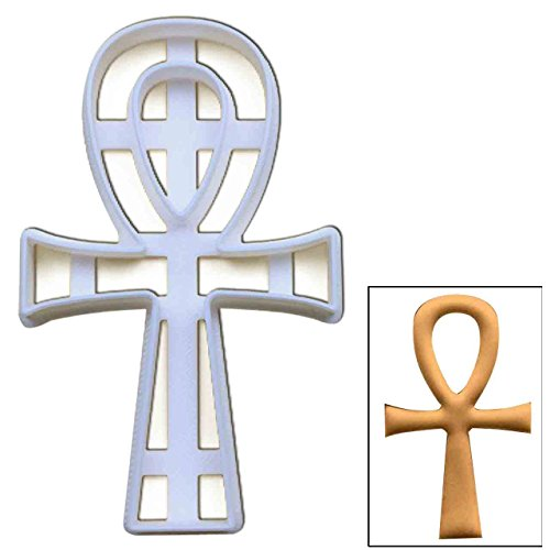 Ankh cookie cutter, 1 pc, Ideal for ancient Egyptian themed party -