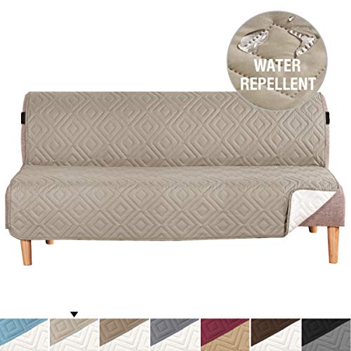 - H.VERSAILTEX Reversible Furniture Protector, Microfiber Soft and Water-Repellent Protector/Slipcovers Seat Width to 70