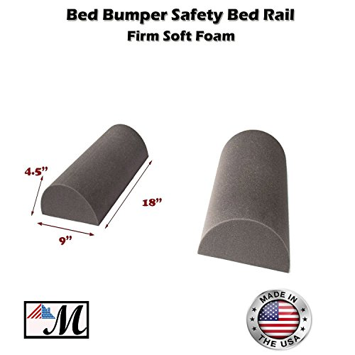 """2 Pack Bed Bumper - Bed Rail for Toddlers Bedding Bumper Pad Safety Guard Rail (9""""x 4.5) 1 set (Guam Guard)"""