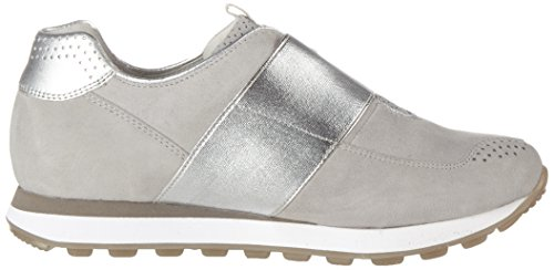 Silber Comfort Gabor Grey Light Gris Zapatillas 40 Mujer para Shoes 55Tw8