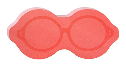 Post-it Super Sticky Notes, Spectacles Shape, Pink, 3 x 3 Inches - Pink Spectacles