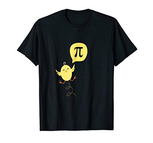PI Math Funny Chick T-shirt (Math Chick)