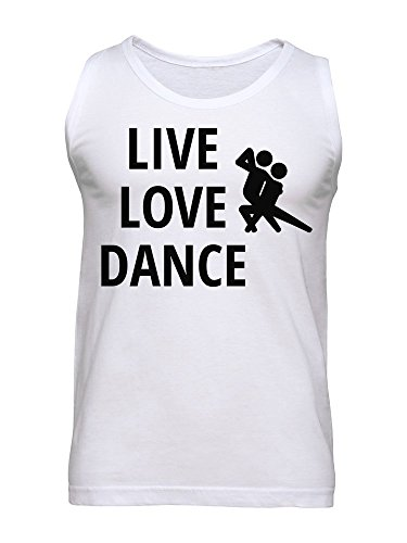 Live Love Dance Men's Tank Top