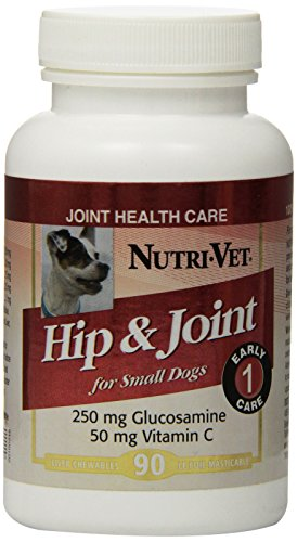 Nutri-Vet Hip and Joint Level 1 Chewable for Small Dogs, 90-Count