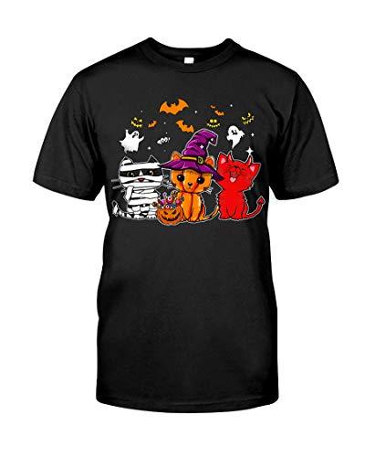 Happy Halloween Cat Gif - Cat Happy Halloween Shirt Best Gif