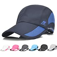 Auoon Sport Cap Summer Quick Drying Sun Hat UV Protection Outdoor Cap for Men, Women