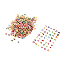 1000x3D DIY Nail Art Tips Fimo Decoration Flower Fruit Animal Slice Clay Sticker (Fruit Series) cool shiny