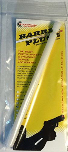 Barrel Plugz - Safety and Training Device for Handguns (9MM)