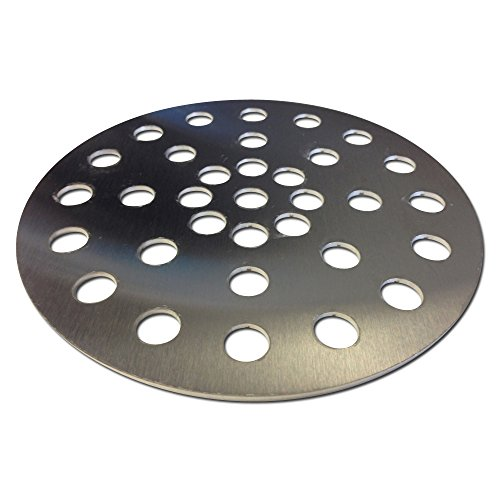 Stainless Fire Grate for Med. Big Green Egg Firebox, Medium Charcoal replacement. LIFETIME WARRANTY
