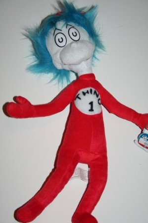 Dr Seuss Thing 1 Plush Stuffed Animal Toy