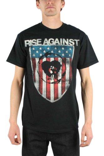 Rise Against - Shield T-Shirt Size XL