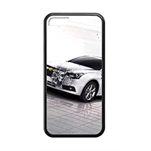meilz aiaiQQQO Broken Chevrolet Hot sale Phone Case for ipod touch 5 Blackmeilz aiai