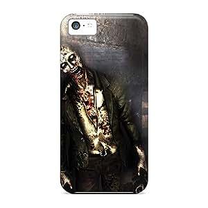 Michaelphones99 Iphone 5c Hybrid Tpu Cases Covers Silicon Bumper Zombie