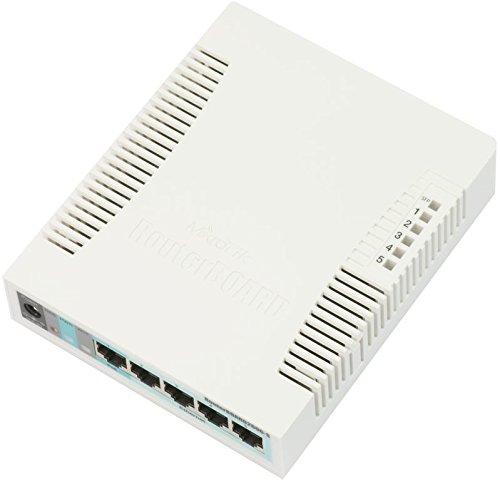 2 opinioni per Mikrotik RB260GS Gigabit Ethernet (10/100/1000) Power over Ethernet (PoE) White