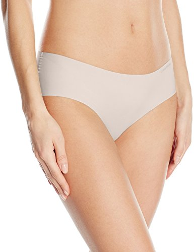 Calvin Klein Uni-Sex Invisibles Hipster Panty, nymph's Thigh, Small