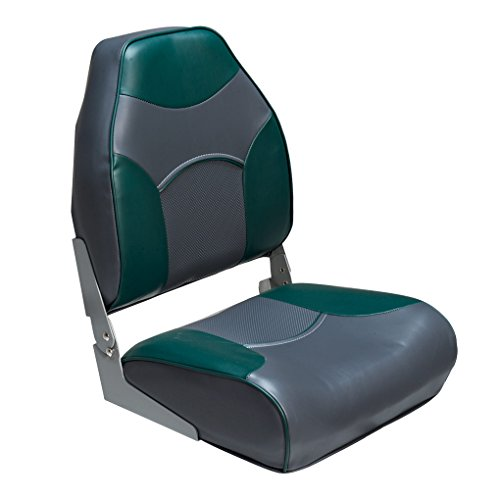 Deck Mate Economy High Back Folding Seat (Green) for sale  Delivered anywhere in USA