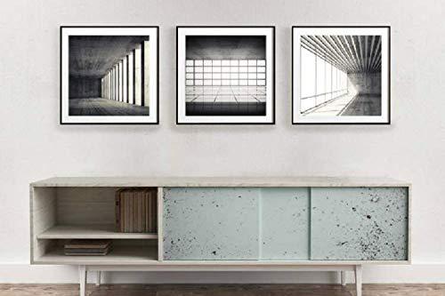 Astonishing Amazon Com Modern Contemporary Wall Art Set Of 3 Photo Interior Design Ideas Clesiryabchikinfo