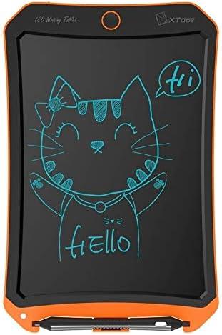 グラフィック描画タブレット ホームオフィスライティング描画のためのMRTU WP9309 8.5インチLCDモノクロ画面のライティングタブレット手書き描画スケッチ落書き落書き落書きボード(ブラック) (Color : Orange)