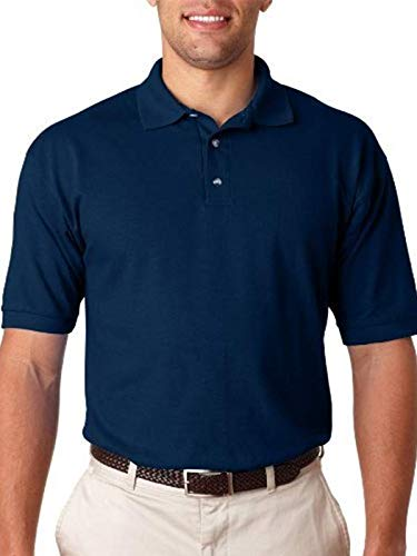 Anvil 6002 Adult Pique Polo - Navy, Extra ()